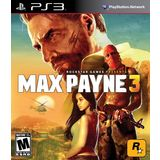 Max Payne 3 Playstation3 Game ROCKSTAR
