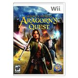 Lord of the Rings: Aragorn's Quest Wii Game Warner Bros. Studios