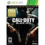 Call of Duty Black Ops w/First Strike Pack Xbox 360 Game Activision
