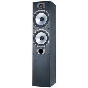 Monitor Audio M4 Speaker (Black Oak Vinyl, Each)
