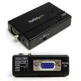 New - Composite/S-Video to VGA by Startech.com - VID2VGATV2
