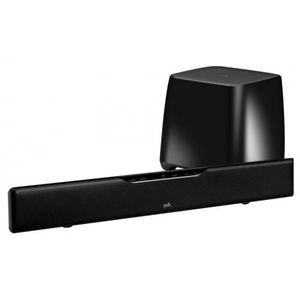 Polk Audio Surroundbar 5000 IHT Virtual Surround Speaker Bar with Wireless Subwoofer