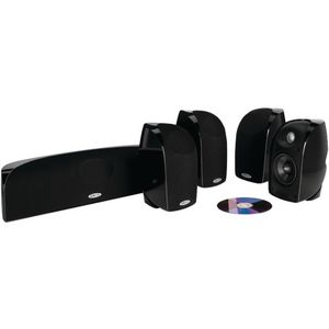 Polk Audio TL250 Speaker (5-pack, Black)