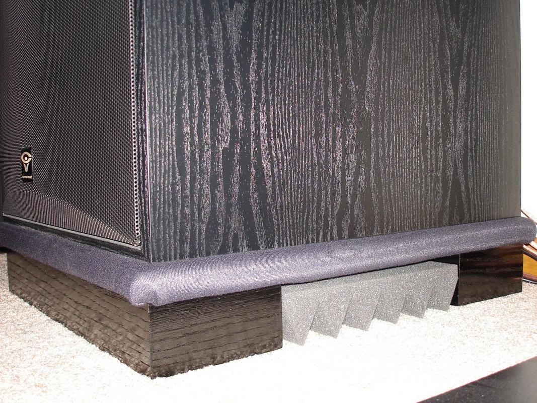 Subwoofer Isolation Pad On Carpet - Carpet Vidalondon