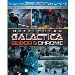Battlestar Galactica: Blood & Chrome (Unrated Edition -Two-Disc Combo Pack: Blu-ray + DVD + Digital Copy + UltraViolet)