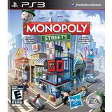 MONOPOLY Streets Playstation3 Game EA