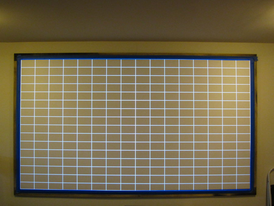 Screen Mounted on wall