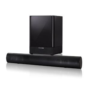 Harman Kardon SB16 Soundbar and Wireless 100 Watt Subwoofer (Black)