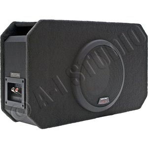 "SBR-S83V - Alpine 8"" Single Ported Enclosure Loaded with a Type-R Subwoofer"