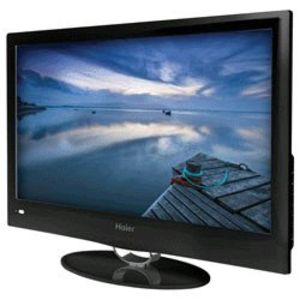 Haier America 19inch Ultra Slim 720p LED HDTV With USB Input 1366 X 768 Panel Resolution