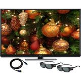Sharp 70 inch Full HD AQUOS Quattron 3D LED Smart TV Bundle