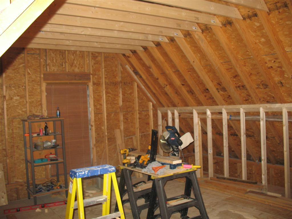 garage ceiling shelf ideas - Attic Bonus Room Theaters Thread AVS Forum
