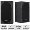 Pioneer Andrew Jones Designed Bookshelf Loudspeakers - SP-BS22-LR