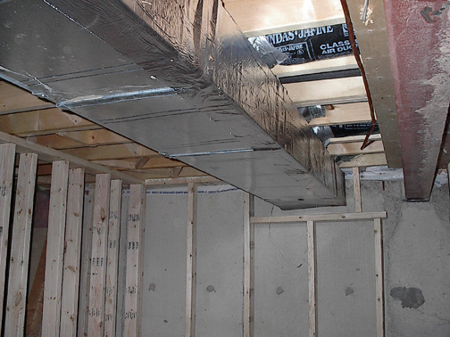 hvac duct deadner stick on avs forum home theater
