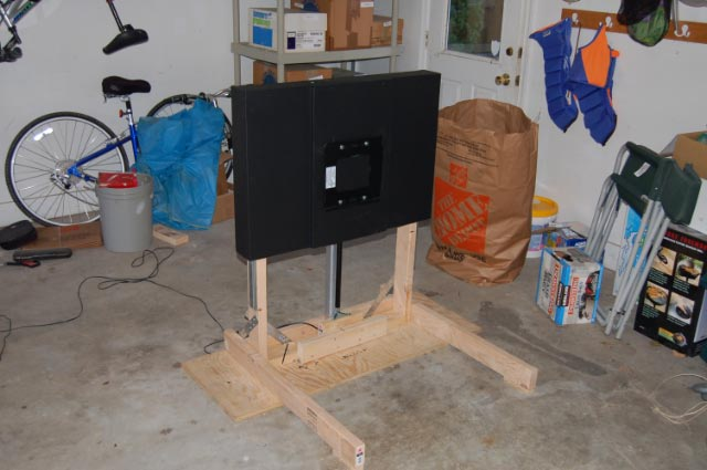 Build a tv lift avs forum home theater discussions for Tv lift motor mechanism