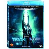 Tron: Legacy / Tron: The Original Classic (Five-Disc  Combo: Blu-ray 3D  / Blu-ray / DVD / Digital Copy)
