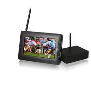 Azend Group Envizen Home Roam TV - Portable, Personal 7 Inch LCD Receiver for all Cable /TV Channels HR701
