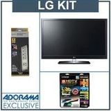 LG 55LW5600 55 inch Class 3D LED TV, Full HD 1080p with Accessory Kit (2 HDMI Cables, 1 RGB Cable, 1 Audio Cable, Plasma / LCD Cleaning Kit, Belkin 6-Outlet Surge Protector)