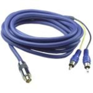 QVS 10 Foot Premium S-Video to RCA Cable