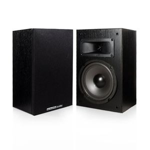 "Acoustic Audio PSS-82 150 Watt 8"" Home Theater Audio Bookshelf Speakers"