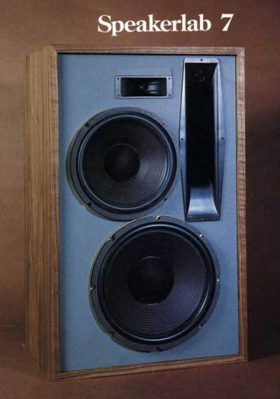 I Aquired 2 Speakerlab 7 Speakers But Not Sure If There A