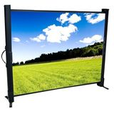 "MicroLite Portable Screen Video (4:3) Format Screen Size: 24""x32"""