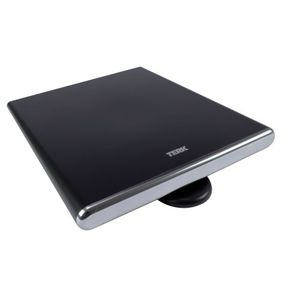 Terk FDTV1A Flat Digital Omni Directional Amplified Indoor Antenna (Black)