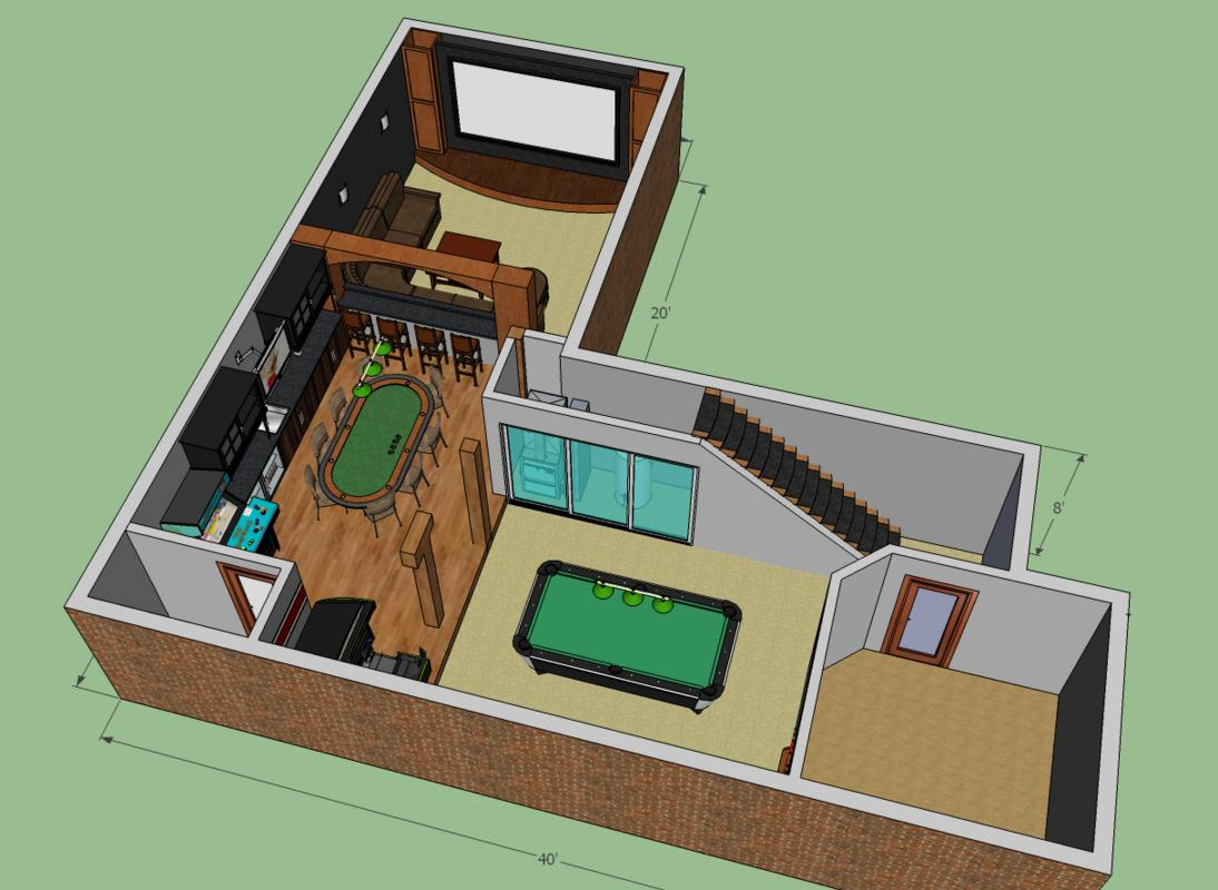 home theater design ll