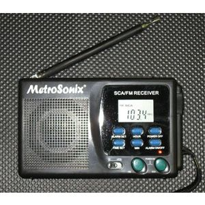 Metrosonix MS-1147 SCA/FM Portable Radio Receiver