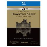 Downton Abbey Seasons 1 &amp; 2 Limited Edition Set - Original UK Version Set [Blu-ray]