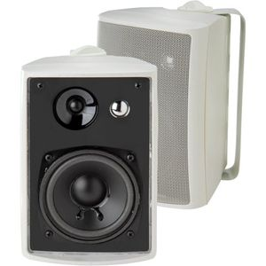 Dual 3-Way Indoor/Outdoor Speaker Set