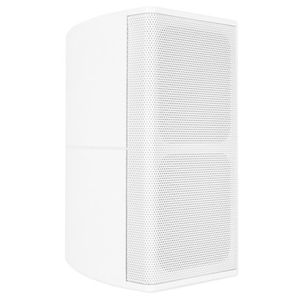 Pure Resonance Audio UniSat Mini Cube Small Center Channel Speaker White Bracket Included - SINGLE Speaker