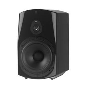 NHT Classic Two Bookshelf Speaker (Black, Single)