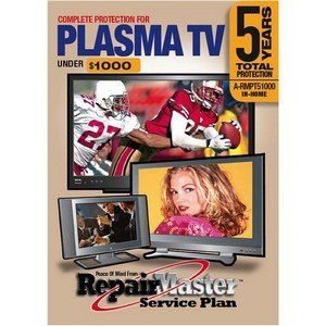 WarrenTech A-RMPT51000 Plasma Tv 5yr Dop Under 1000 ARMPT51000