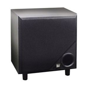 "Dual 8"" Front Firing 150 Watt Powered Subwoofer"