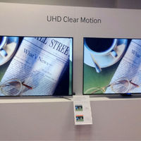 This Samsung demo showed that LCD panels can overcome motion resolution issues