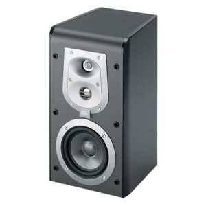 "JBL ES30BK 3-Way, 6 1/2"" Bookshelf Speaker - Black (Pair)"