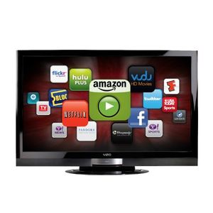 VIZIO XVT553SV 55-Inch Class Full Array TruLED with Smart Dimming LCD HDTV 240 Hz SPS with VIZIO Internet Apps