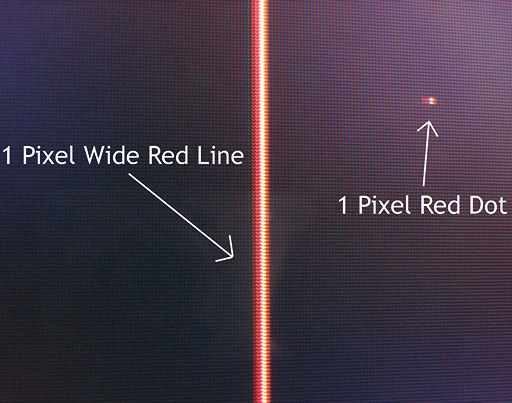 how to get rid of red lines on dell monitor