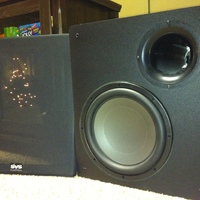 SVS PB-12 NSD Subwoofer.  A lot of power and punch for my room that is 24 x 15.