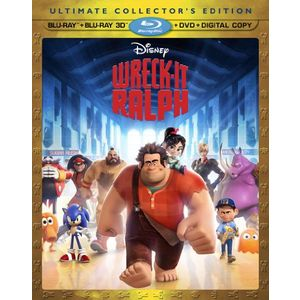 Wreck It Ralph (Four-Disc Combo: Blu-ray 3D/Blu-ray/DVD + Digital Copy)