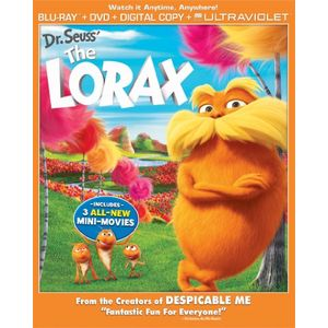 Dr. Seuss' The Lorax Combo Pack (Two Discs: Blu-ray + DVD + Digital Copy + UltraViolet)