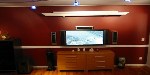 Pull Down Projection Screen Over Plasma Lcd Avs Forum