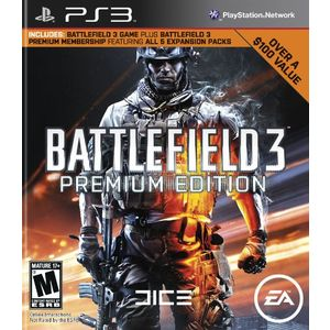Battlefield 3 Premium Edition Playstation3 Game EA