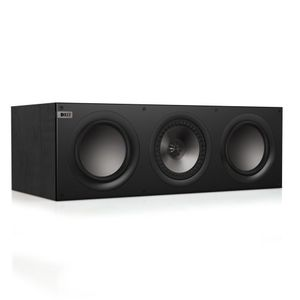 KEF Q600cBL Center Channel Speaker (Black Oak)