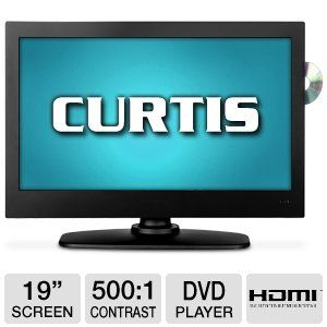 "Curtis LEDVD1975A 19"" 720p 60Hz LED TV/DVD Combo"