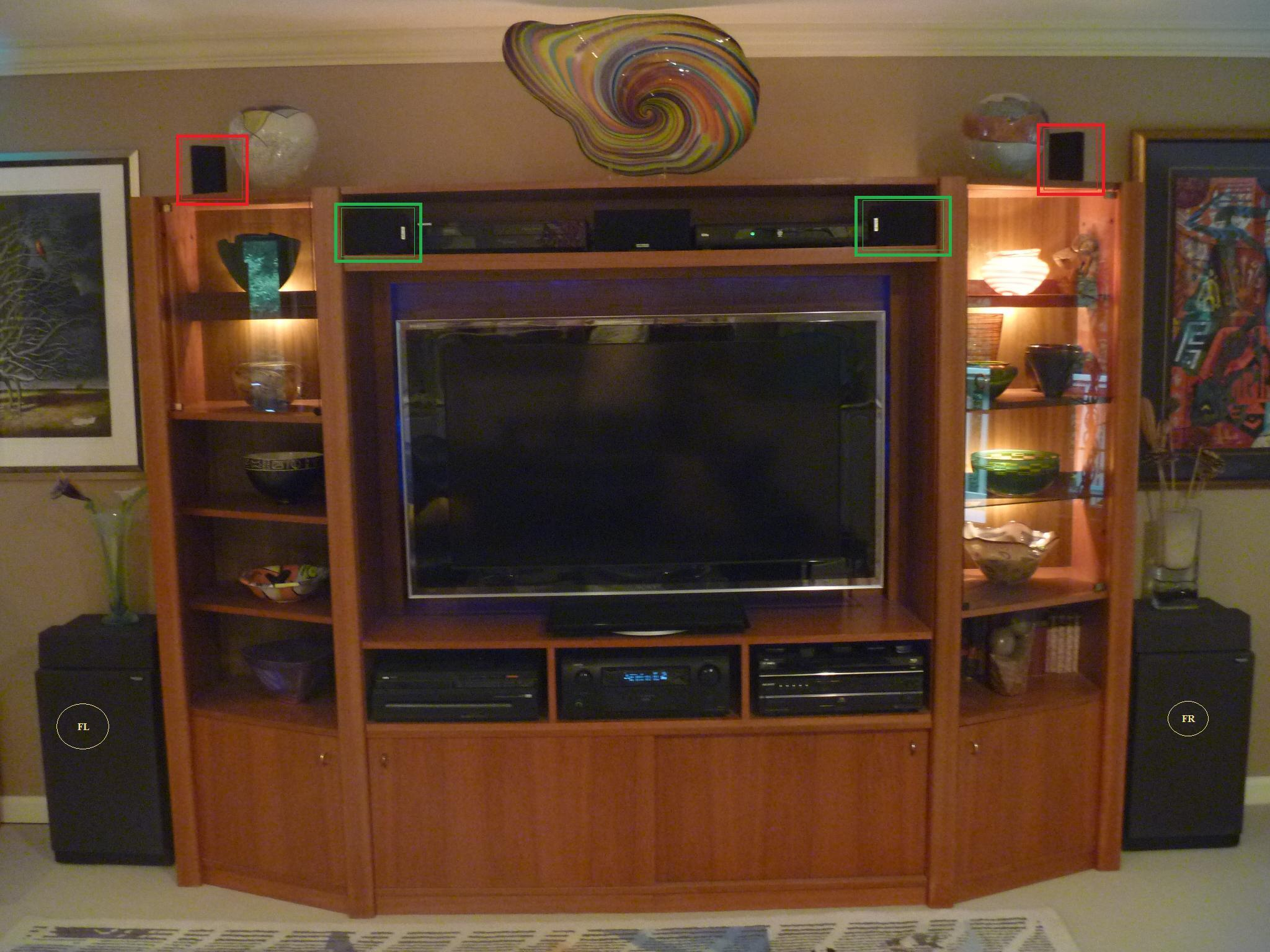 entertainment center ideas casual cottage