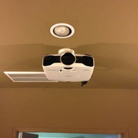 Projector wired and ceiling mounted. Epson 5020UB