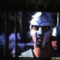 Gladiator at 14' taken with $19 webcam (12'x8' screen from Marquee 8000 CRT)