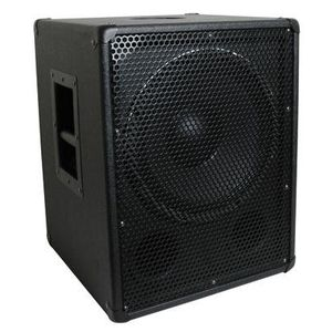 MCM Custom Audio 555-10385 Heavy Duty 15 inch PA/DJ Speaker Subwoofer